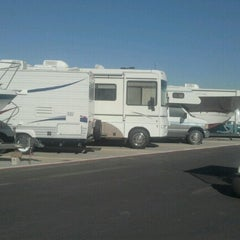 Photo taken at Cherry & Carson RV Storage by Rafael U. on 11/13/2012