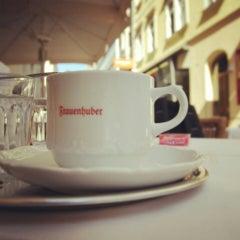 Photo taken at Cafe Frauenhuber by Natalia Z. on 8/18/2013