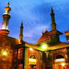Photo taken at Masjid Raya At Taqwa Kota Cirebon by ismail m. on 11/12/2012