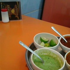 Photo taken at Taqueria Arandas by Ing. Gabriela L. on 10/19/2012
