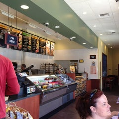 Photo taken at Einstein Bros Bagels by Damacio U. on 4/9/2013