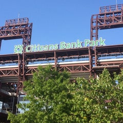 Photo taken at Citizens Bank Park by Jennifer S. on 5/17/2013