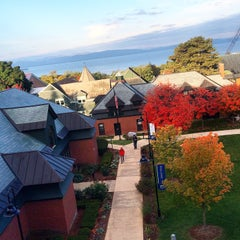 Photo taken at Champlain College by Rob W. on 9/25/2014
