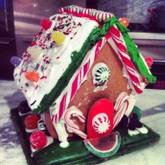 Photo taken at Gingerbread Village by Devon G. on 12/8/2012