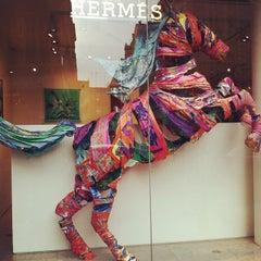 Photo taken at Hermès by Nicole C. on 9/7/2014