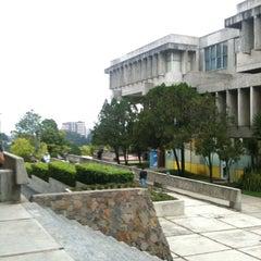 Photo taken at Universidad Rafael Landívar by Javier G. on 10/8/2012