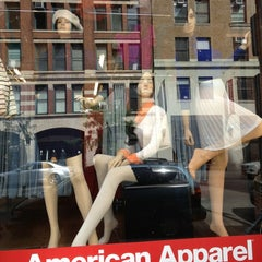 Photo taken at American Apparel by Mark K. on 9/15/2013