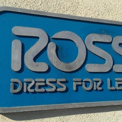 Photo taken at Ross Dress for Less by James H. on 10/12/2012