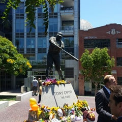 Photo taken at Tony Gwynn Statue by James H. on 6/16/2014