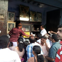 Photo taken at Iruttu Kadai (Halwa Store) by Sunil Ganesh R. on 1/12/2013