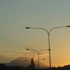 Photo taken at Traffic Light Lido Intersection by Heart B. on 4/6/2014