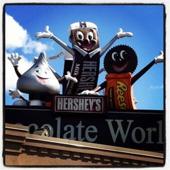 Photo taken at Hershey's Chocolate World by Tony K. on 4/2/2013