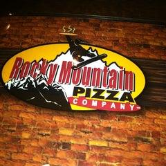 Photo taken at Rocky Mountain Pizza by Miriam R. on 1/29/2013