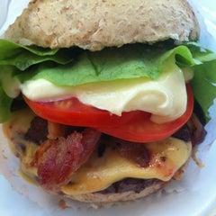 Photo taken at Achapa Hamburger by Julie on 11/15/2012