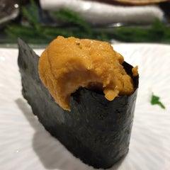 Photo taken at Sushi Shin 鮨辰日本料理 by Dana on 9/4/2015