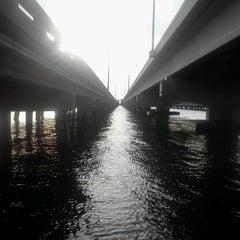 Photo taken at Gandy Bridge by Nadeem F. on 11/14/2012