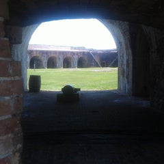 Photo taken at Fort Morgan State Historic Site by Jason M. on 5/26/2013