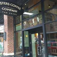 Photo taken at Sisters Coffee Company by Geoff S. on 11/10/2012