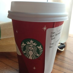 Photo taken at Starbucks by Harold i K. on 12/22/2012