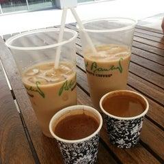 Photo taken at ABM Cafe Acikhava by Esra A. on 8/28/2013