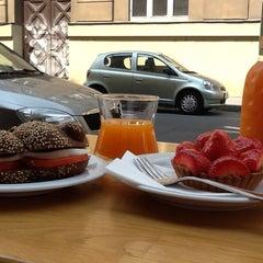 Photo taken at Mansson Danish Bakery & Café by Lenka on 7/10/2013