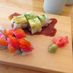 Photo taken at Yoshi Sushi by Shawn on 3/3/2014