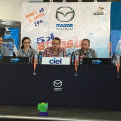 Photo taken at Mazda Saltillo by Mariano D. on 7/16/2015