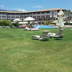 Photo taken at The St. Regis Mardavall Mallorca Resort by Grace C. on 6/3/2014