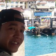 Photo taken at Phi Phi Island Cabana Hotel by Adiawan W. on 12/7/2014