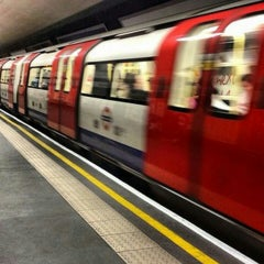 Photo taken at Oxford Circus London Underground Station by Mauricio U. on 6/26/2013