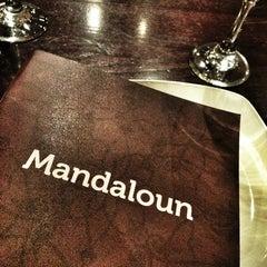 Photo taken at Mandaloun by Deema_Fahad on 6/27/2013