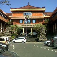 Photo taken at Padmasana Fakultas Kedokteran Universitas Udayana by Ajus G. on 6/16/2014