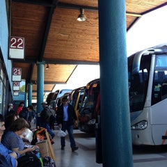 Photo taken at Terminal de Buses Collao by Lindy K. on 10/27/2012