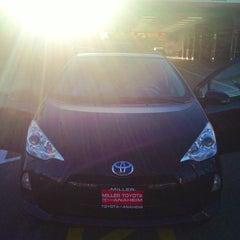 Photo taken at Miller Toyota of Anaheim by Michela F. on 9/24/2013