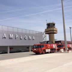 Photo taken at Aeropuerto de Pamplona (PNA) by Jesús on 5/6/2013