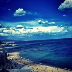 Photo taken at Torre d'Alta Mar by Carlos P. on 7/4/2013