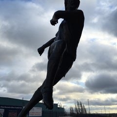 Photo taken at The Hawthorns by Mark N. on 1/12/2016