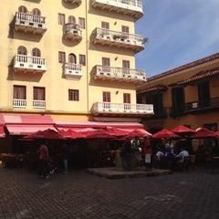 Photo taken at Plaza Santo Domingo by Maria on 10/26/2012