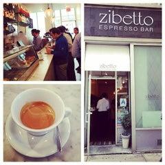 Photo taken at Zibetto Espresso Bar by NYCsidewalker on 5/19/2014