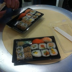 Photo taken at Sushi Wrap by Melvin on 9/30/2012