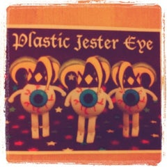 Photo taken at Plastic Jester Eye by Carmen S. on 1/17/2011