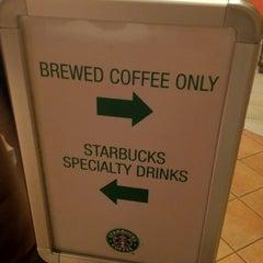 Photo taken at Starbucks by Jens M. on 3/4/2012