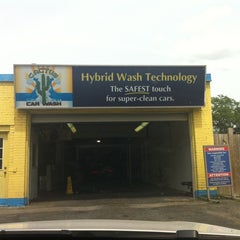 Photo taken at Cactus Car Wash by Valerie Q. on 7/27/2011