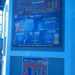 Photo taken at Dutch Bros. Coffee by David H. on 9/14/2011
