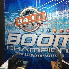 Photo taken at Boomchampionstt 94.1FM by Selvon F. on 6/11/2013