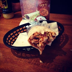 Photo taken at Mexigo Burrito Bar by Sam G. on 10/28/2012