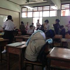 Photo taken at โรงเรียนเชียงคำวิทยาคม Chiang Kham Wittayakom School by Kittisak K. on 3/6/2013
