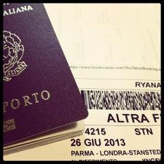 "Photo taken at Aeroporto di Parma ""Giuseppe Verdi"" (PMF) by Michele L. on 6/26/2013"