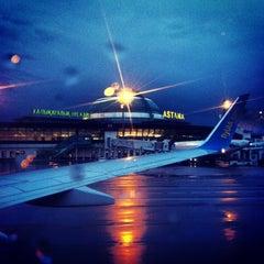 Photo taken at Astana International Airport (TSE) by Vugar G. on 8/24/2013