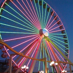 Photo taken at Morey's Piers and Beachfront Waterparks by Donald D. on 9/22/2012